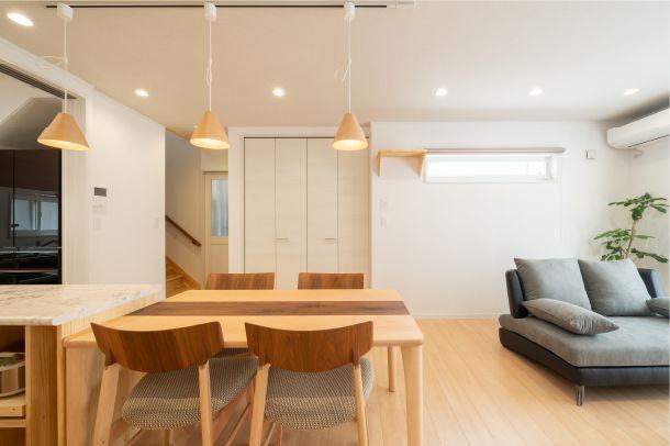 ホッとできる空間のある家づくり
