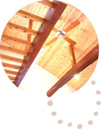 天井の施工のイメージ